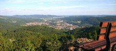 Blick vom Ruppberg auf Zella-Mehlis
